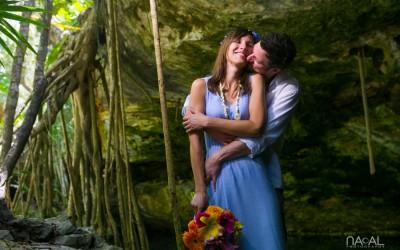 Civil Wedding in Riviera Maya – Ingrid and Thomas