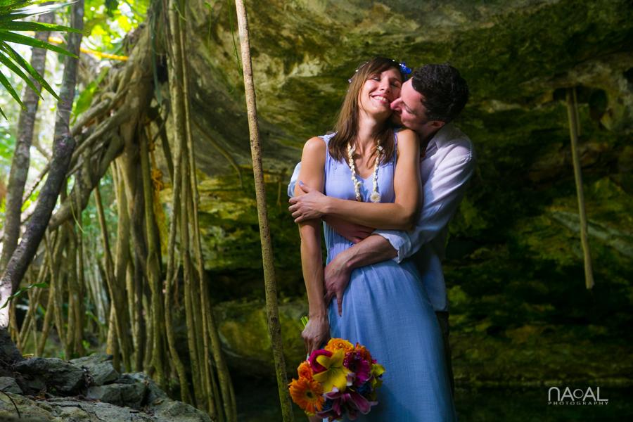 Boda Civil en la Riviera Maya – Ingrid y Thomas
